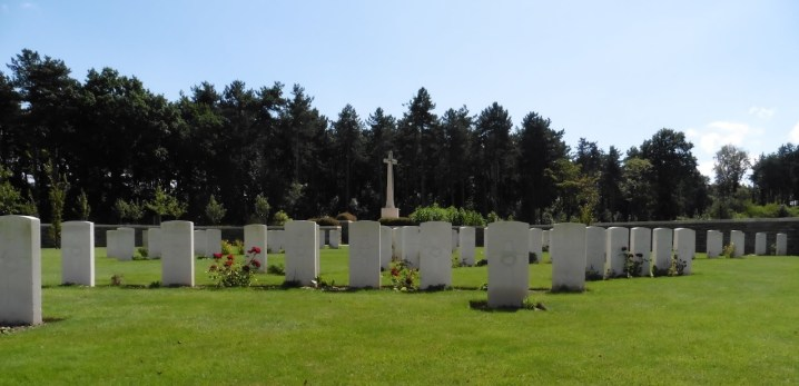 Polygon Wood Cemetery in Zonnebeke