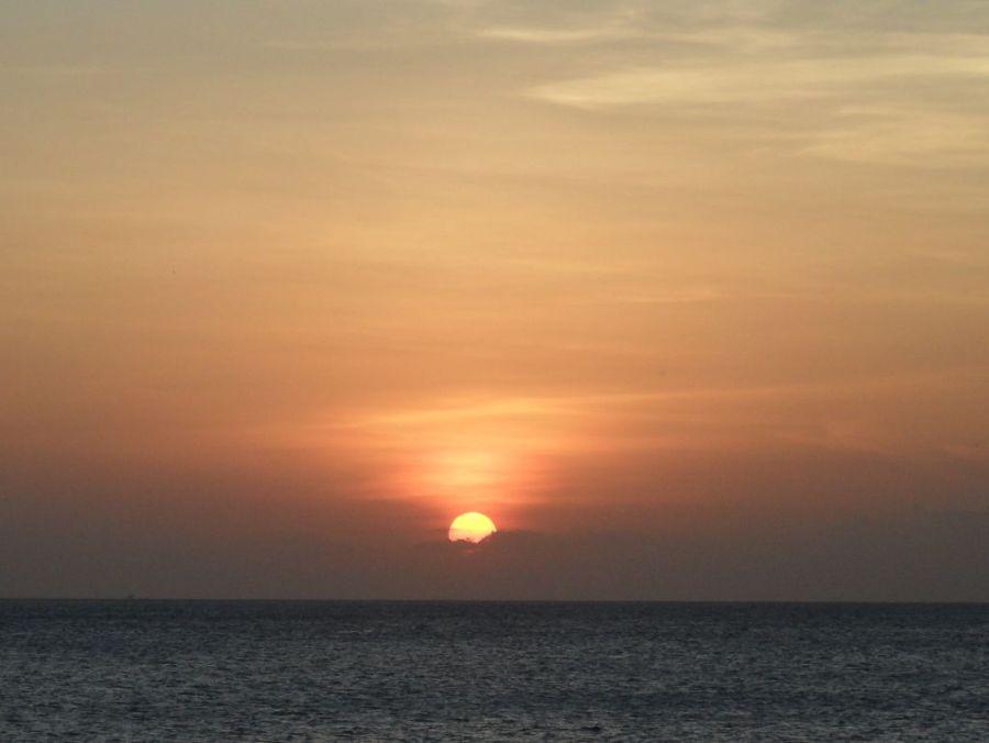 Zanzibar Serena Inn'den gün batımı
