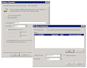 How to : VMware ESX with NFS on Win2003 R2