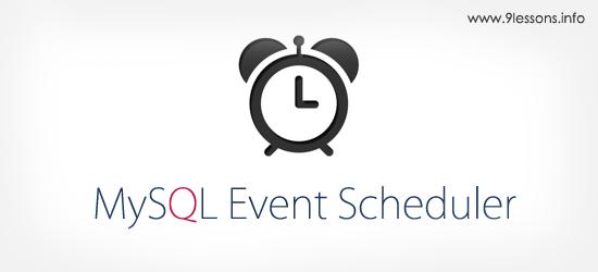 MySQL Event Scheduler