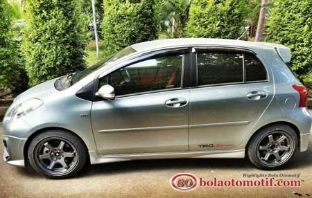toyota yaris trd modif grand new avanza g 1.5 modifikasi s limited a t sportivo medium silver eksterior samping