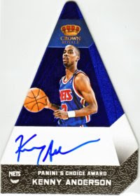 12/13 Panini Choice Blue Kenny Anderson Auto