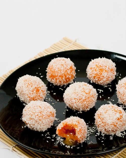 番薯流心糯米糍【特色甜品】 Sweet Potato Glutinous Rice Balls | 簡易食譜 - 基絲汀: 中西各式家常菜譜