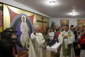 Bendición del Columbario