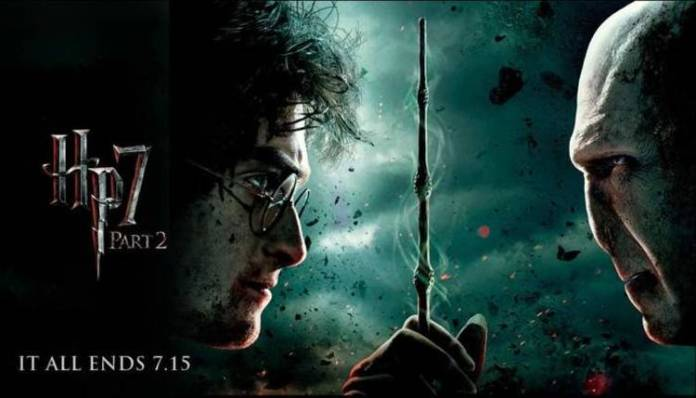 Harry Potter contra Lord Voldemort en un encuentro legendario