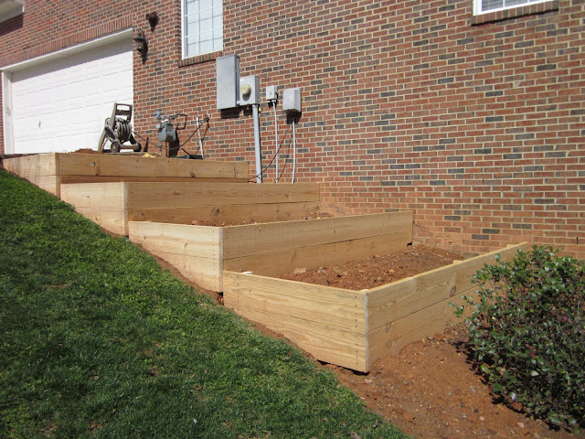 Raised Garden Slope