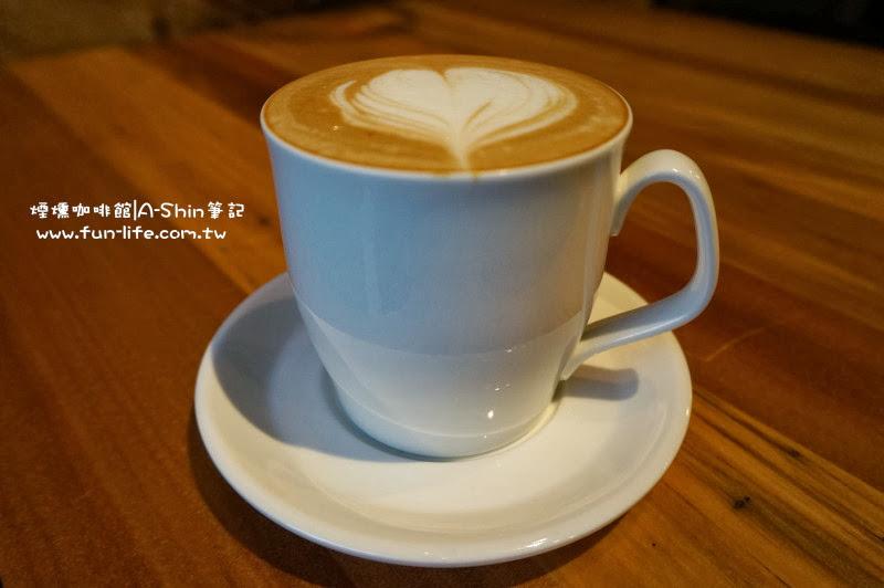煙燻咖啡 榛果咖啡(熱) @130元/杯