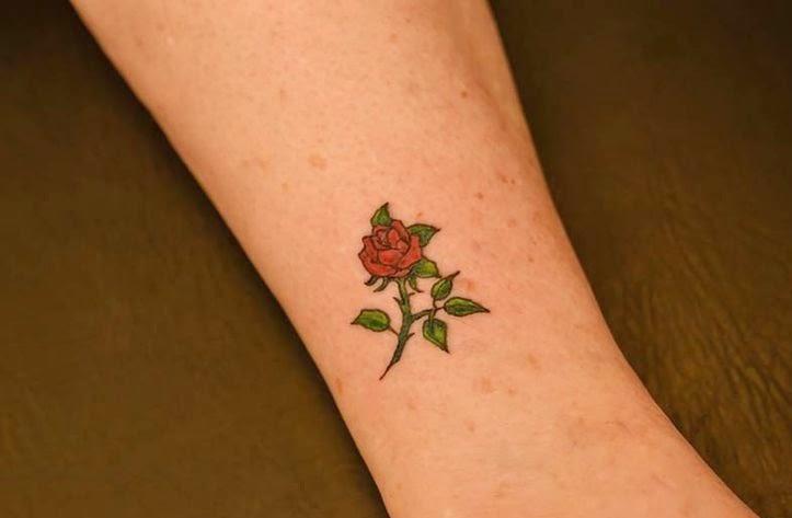 Little Rose Tattoo Ideas
