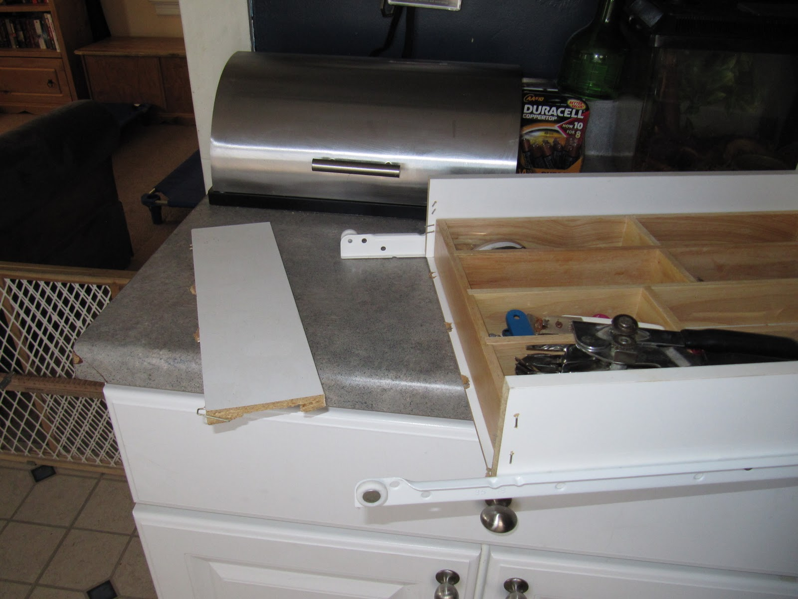 kitchen drawer repair faucets touchless with a pinch of chaos day 9