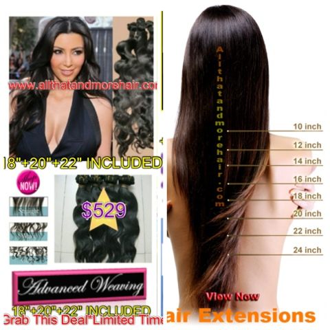 22 inch sew in human hair extensions triple weft hair extensions