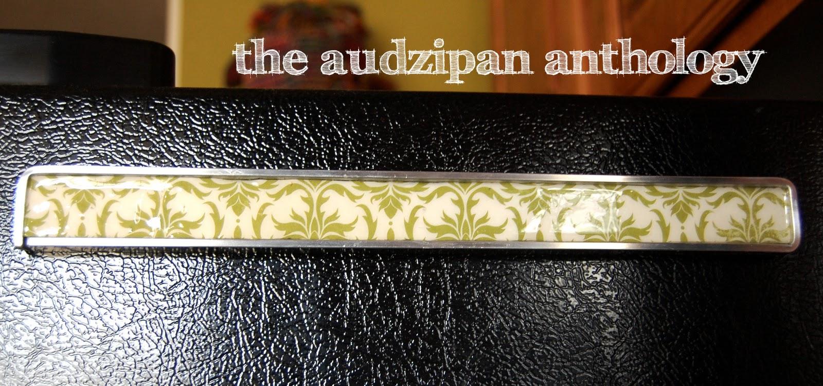 the audzipan anthology DIY Magnetic Knife Rack Tutorial