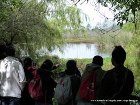 Visitantes al Humedal La Conejera