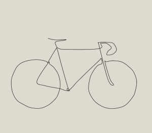 line bike drawing picasso drawings bicycle simple continuous easy inspired lines contour sketch minimalist sketches paceline illustration outline draw tattoo
