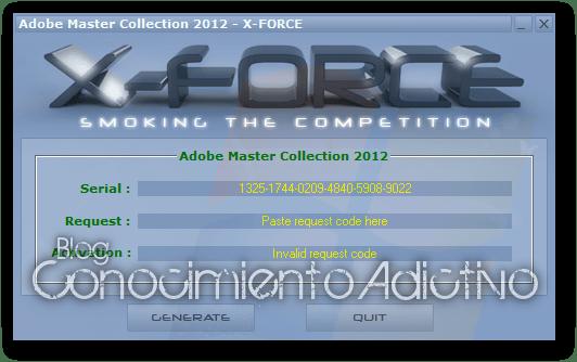 adobe master collection cs6 offline activation code