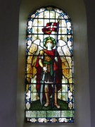 Stained Glass Window In Newlands Church