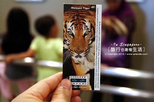 【走走新加坡】夜間動物園