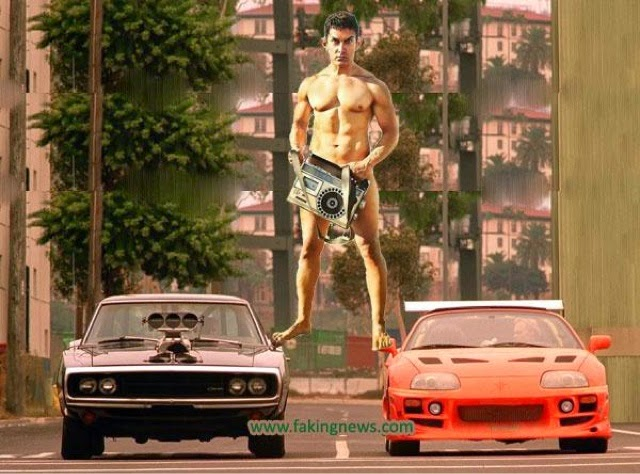 Top 10 Aamir Khan funny meme went viral from Movie PK (Peekay 2014) !!!  Whatsapp bollywood funny pic !!! Aamir Khan competing with Rajnikant !!!