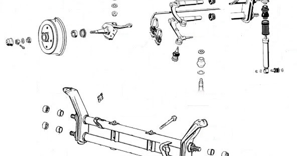 VW Beetle: Volkswagen Beetle Ball-Joint Front Suspension