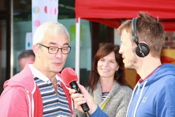 Luc Lepouttre interview voor Radio 2
