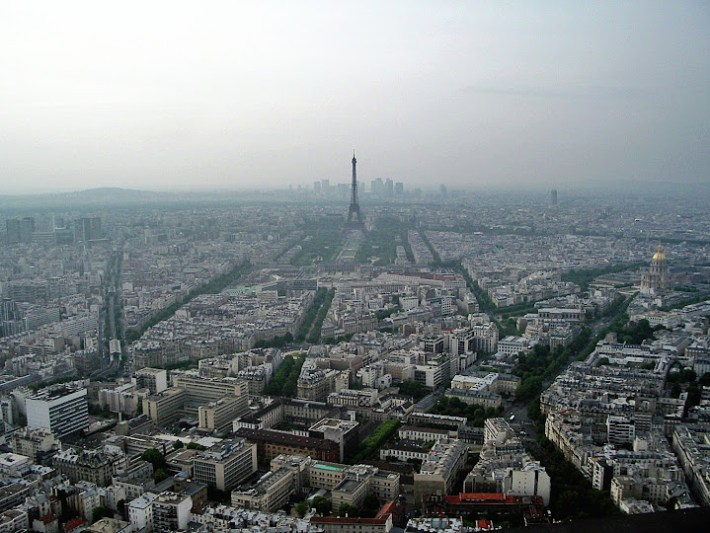 Qué ver en París: Vistas de París desde la torre Montparnasse