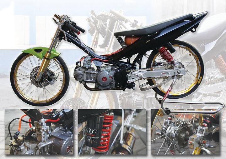 Gambar Motor Drag Bebek