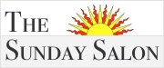 logo of The Sunday Salon, a weekly online conversation about reading