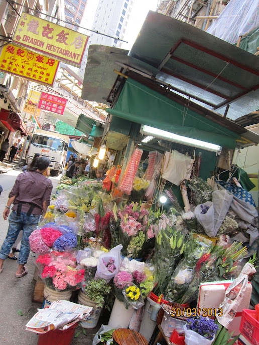 墻頭草の涂鴉墻: 【香港】中環:擺花街