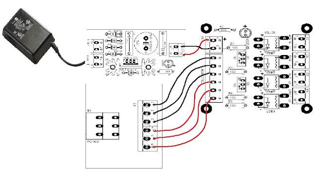 Audio Volume Control Potentiometer Diagram