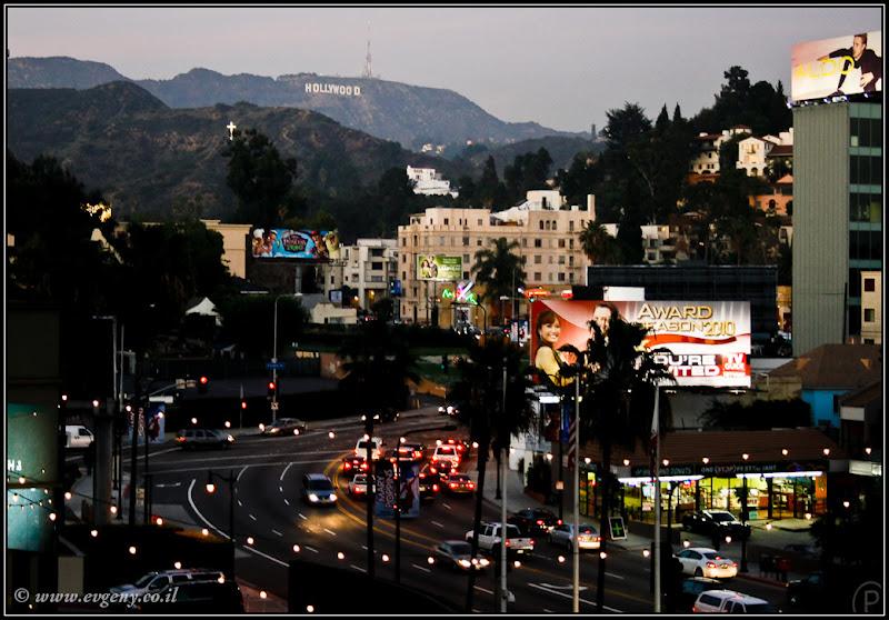 Вид на Америку: Los Angeles, Аллея Звезд