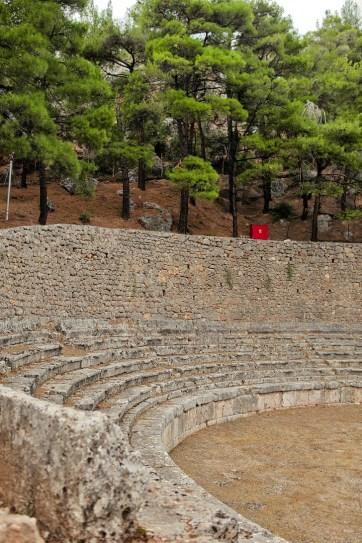 Delphi Stadium.