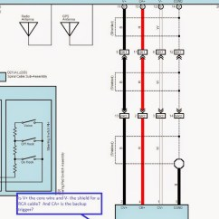 Wiring Diagram For Car Stereo Toyota 2007 Dodge Caliber Ignition Which Stock Wires To Use Connect Backup Camera Backupcamerasienna01 Jpg