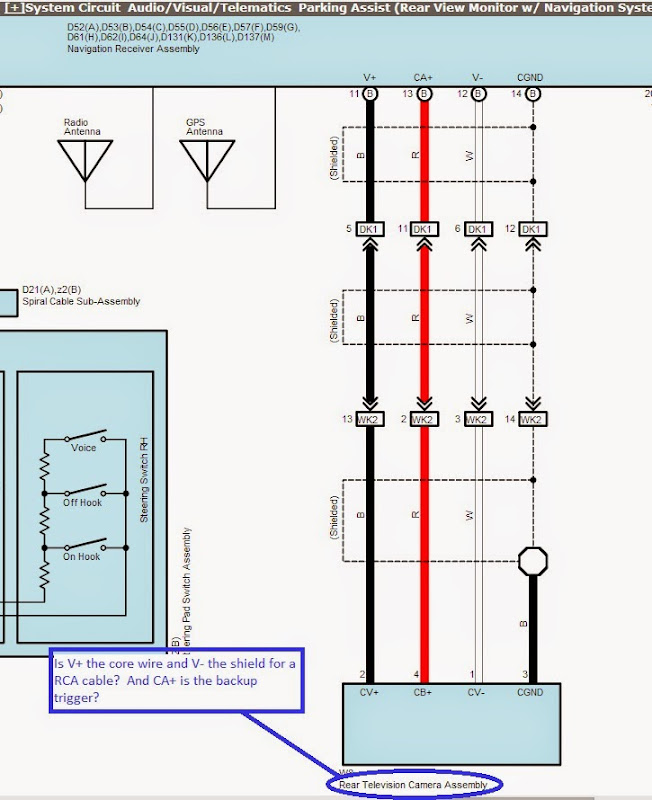 1970 toyota land cruiser wiring diagram 2003 dodge grand caravan a c tundra backup camera which stock wires to use connect totoyota