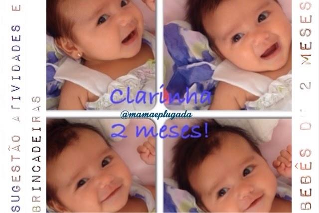 Atividades e brincadeiras para bebês de 2 meses