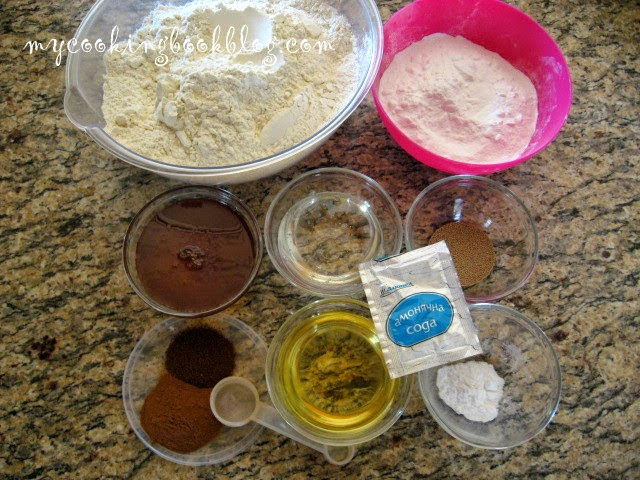 Меденки с мая, сода бикарбонат и амонячна сода