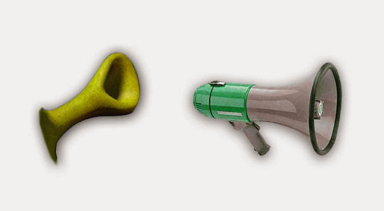 Shrek's Ear and Megaphone