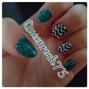 mad nail art chevron nails