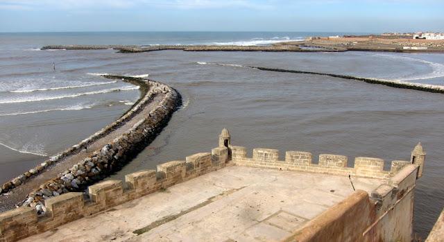 View from Kasbah de Udayas, Rabat, Morocco