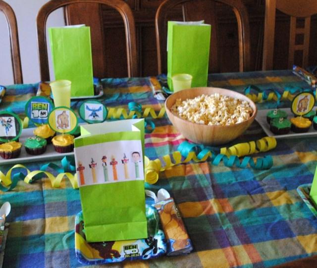 A Ben 10 Birthday Party Party Planning Boy Birthday Ben 10