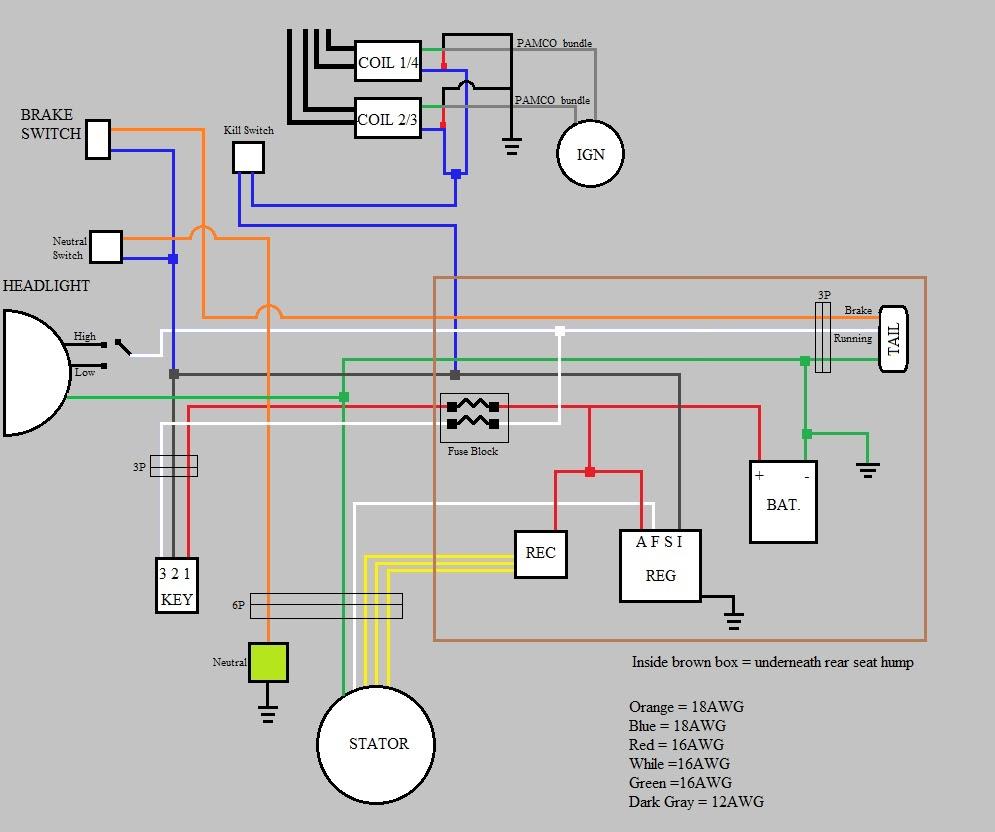 1974 honda ct70 wiring diagram trailer electric brakes