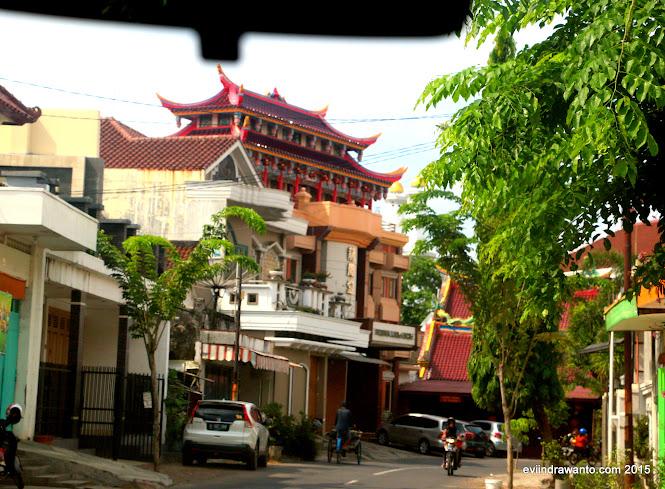 Foto Klenteng Po An Thian di kota tua Pekalongan