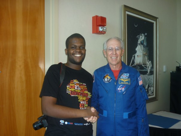 Meeting Astronaut Robert Springer