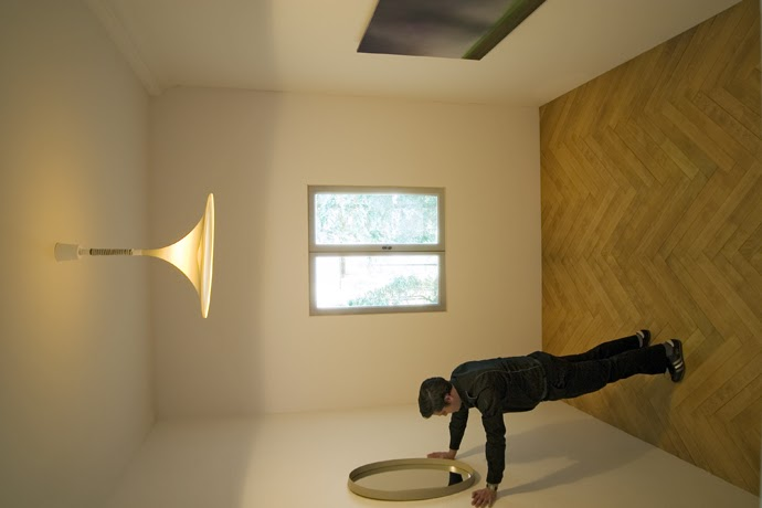 D E C E P T O L O G Y Deceptive rooms  optical illusion