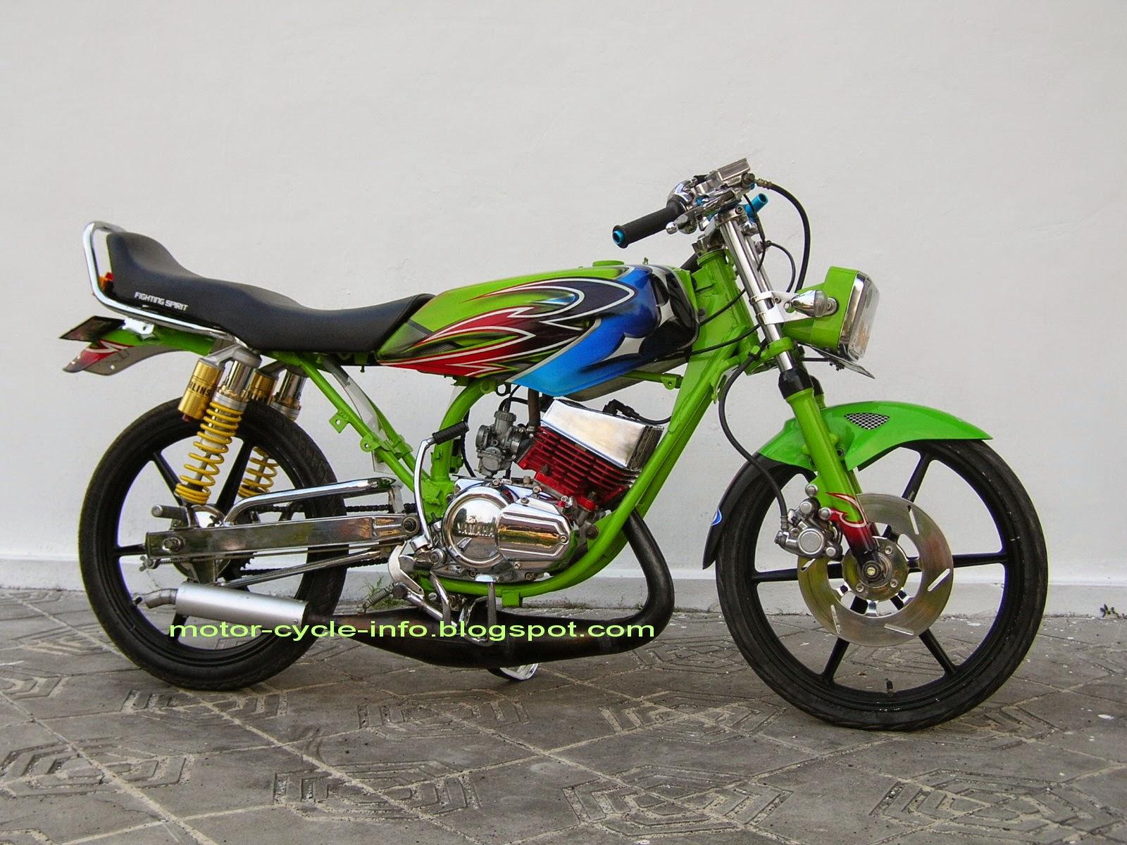 Modifikasi Motor Honda Blade Road Race  Thecitycyclist