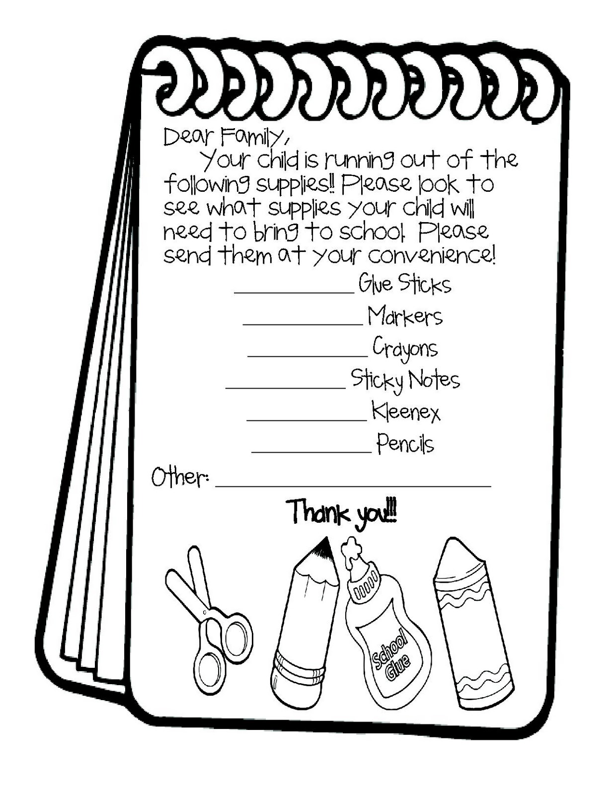Lesson Plan SOS: Wanted: More School Supplies!!
