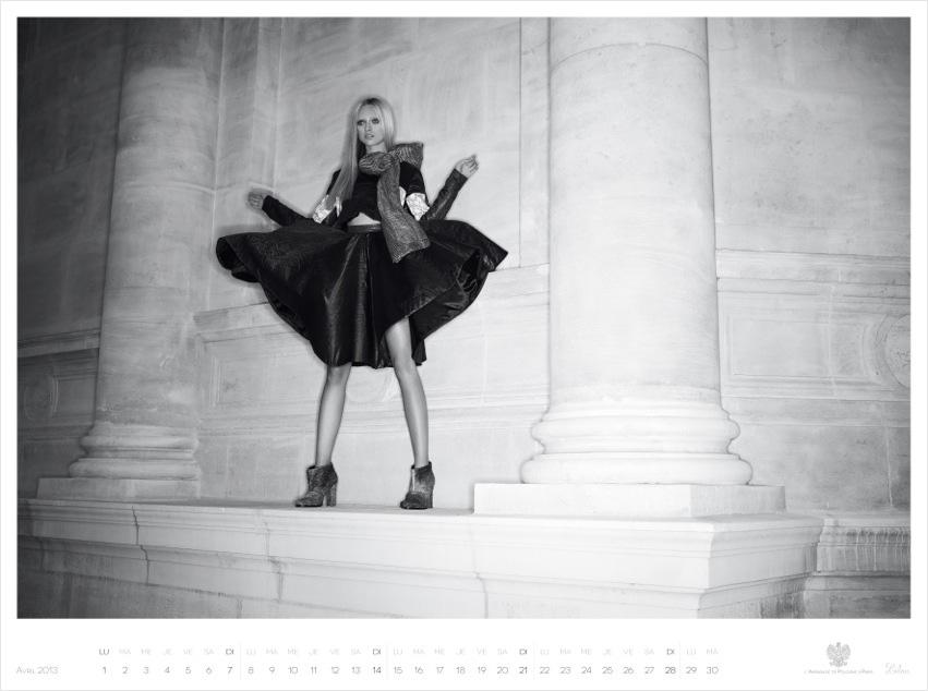 *Piotr Stoklosa 鍾情洛可可:拍攝系列 2013 Polish Embassy in Paris年曆! 9