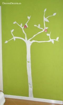 Mi árbol pintado en la pared.