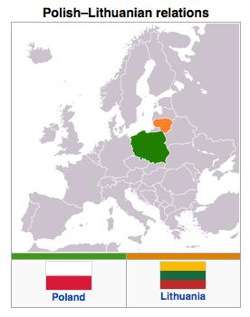 Poland - Lithuania Relations