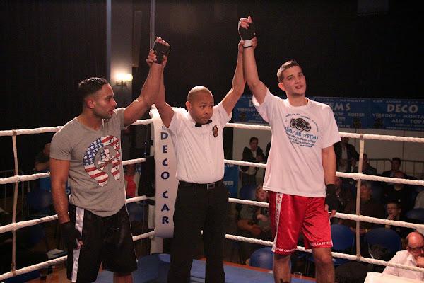 Aurélien Duquenoy vs Anour Laarous, boksmeeting Harelbeke 22 maart 2014