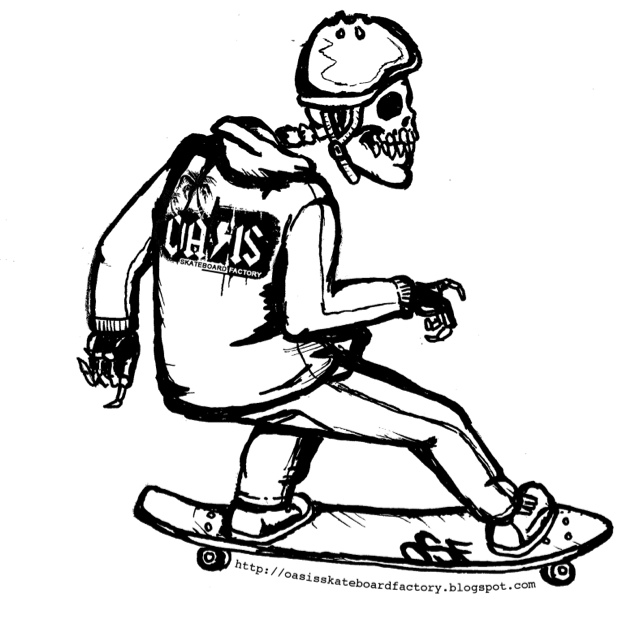 OASIS SKATEBOARD FACTORY: Drop in to an OSF Info Session