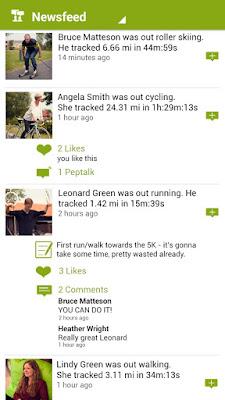*推薦的運動健身紀錄好助理 :Endomondo Sports Tracker (Android App) 6